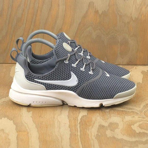 Nike Womens Presto Fly Gray White